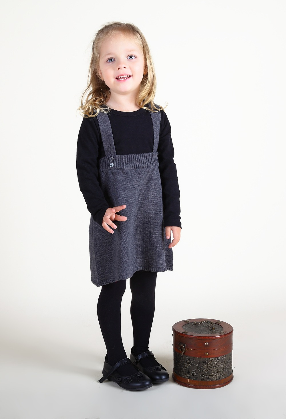 Overalls for Children Sleeveless Jumpsuits Dress Spring Kids Girls Suspenders Dresses Autumn Knitting Pattern Toddlers Costumes kacakid spring new children s sweet girls dresses baby girls dress knitted suspenders baby sleeveless dress