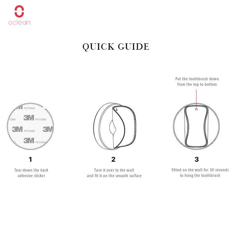 Xiaomi Oclean elektryczna soniczna szczoteczka do zębów uchwyt ścienny kreatywny bezramienny stojak stojak zaprojektowany dla Xiaomi elektryczna szczoteczka