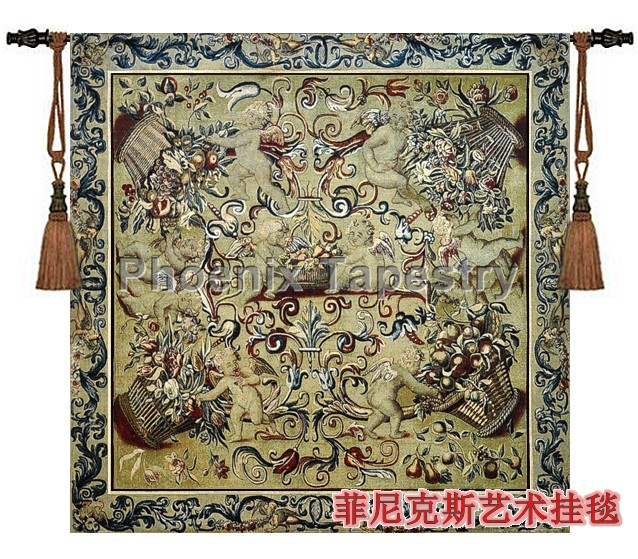fabric wall hangings for sale uk bedrooms nz beautiful tapestry hot selling cotton fashion classical font