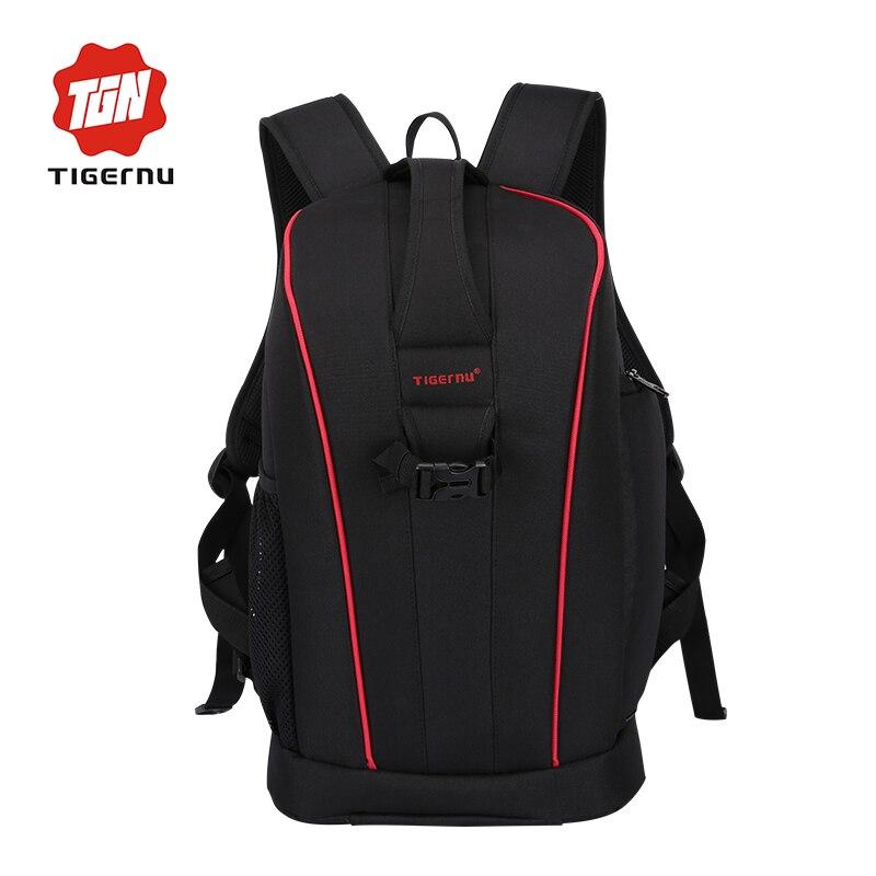 ФОТО 2017 Tigernu multifunctional Leisure Summer photo camera&laptop backpack men waterproof camera bag photography camera backpack