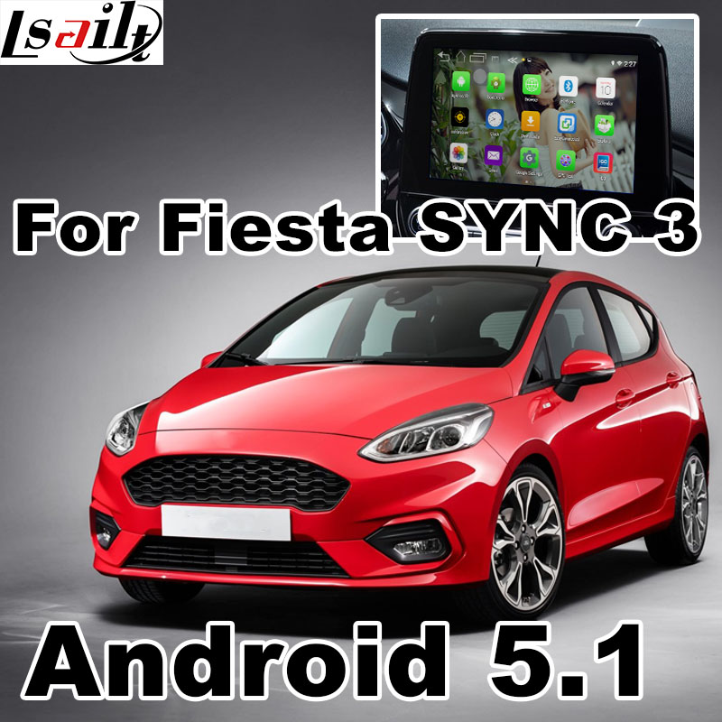 Android GPS navigation box for Ford Fiesta etc video interface box SONY SYNC 3 mirror link