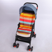 Baby Rainbow Stroller Pad Seasons General Soft Seat Cushion Child Cart Seat Mat Kids Pushchair Cushion Baby Car Seat Accessories(China)