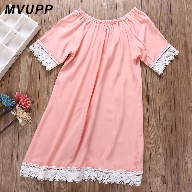 HTB1C5i5kHArBKNjSZFLq6A dVXae MVUPP mother daughter dresses Solid Fashion for mommy and me clothes family look mom baby elegant dress matching outfits summer