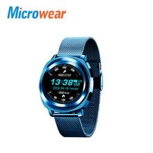 Microwear L2 Sports Smart Watch 1.3 Inch MTK2502 Heart Rate Tracker smartwatch Sleep Monitor Pedometer IP68 Water-Resistant стоимость