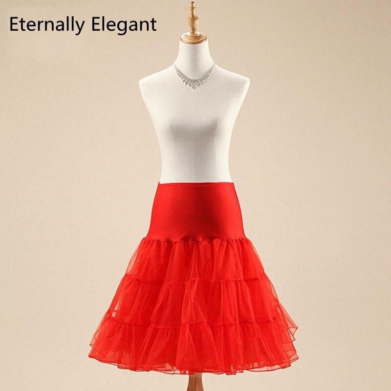 2017 Short Organza Halloween Petticoat Crinoline Vintage Wedding Bridal Petticoat For Wedding Dresses Underskirt Rockabilly Tutu
