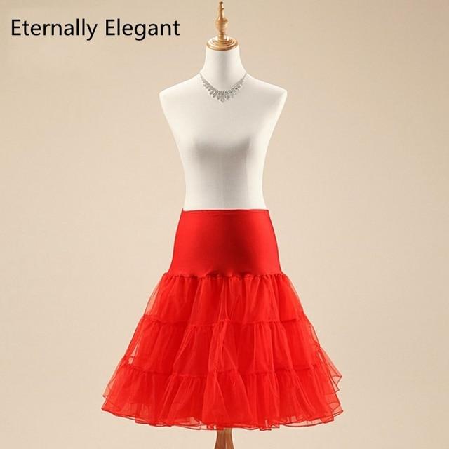 2017 Short Organza Halloween Petticoat Crinoline Vintage Wedding Bridal  Petticoat for Wedding Dresses Underskirt Rockabilly Tutu 838324c0d323