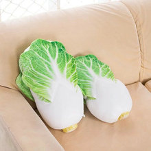 33 40cm 2017 New Style Cute Chinese cabbage Plush Toys Soft vegetable Cloth Doll Pillow Cushion