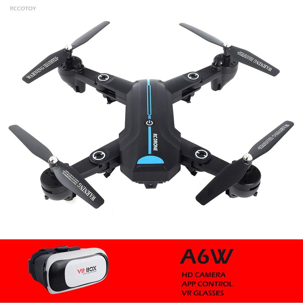 RC Drone Mini Foldable Selfie Drone with Wifi FPV 2MP/0.3MP Camera VR Glasses Altitude Hold Quadcopter VS VISUO XS809HW E58 E51