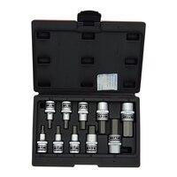 industrial 1/2inch Hex bit socket set 4 19mm hand repair reliable tools