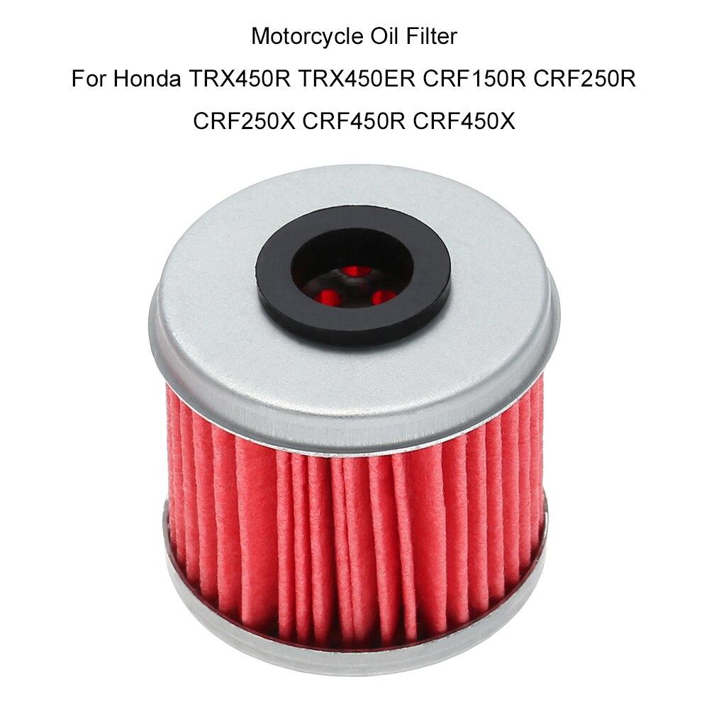 5PCS Oil Filter for Honda TRX450R CRF150R CRF150RB CRF250X CRF450X CRF250R