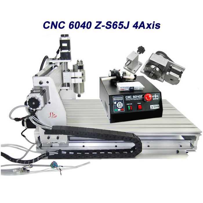 Free tax to Russia 4axis 6040 cnc milling machine engraving for aluminum metal pcb russia culinary guidebook