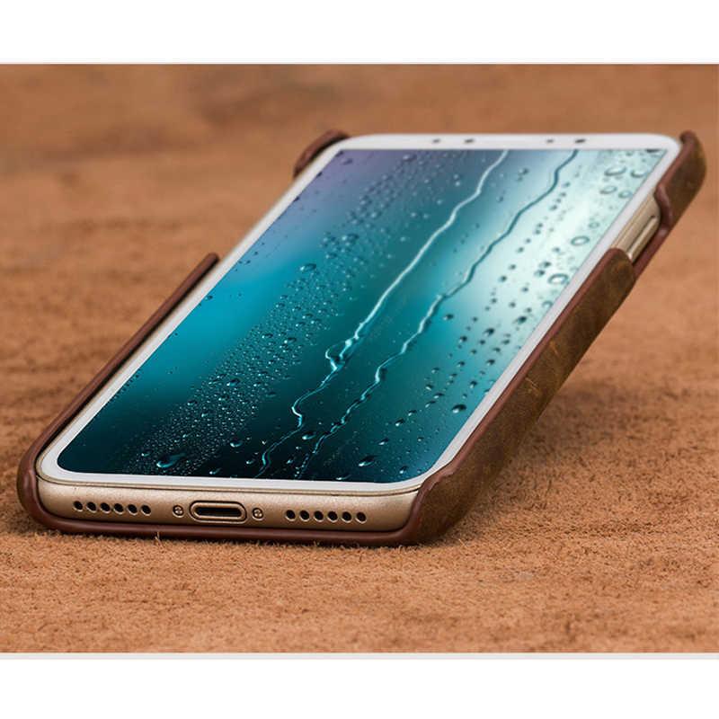 Hakiki PULL-UP deri kılıfı için onur 9X 8X 10i 10 20 Pro Retro kapak Huawei mate 20 p20 P40 Pro P30 Lite Y6 P akıllı 2019 Nova 5t Mate 20 lite P20 Lite P20 Pro Honor Note 10 20 Lite