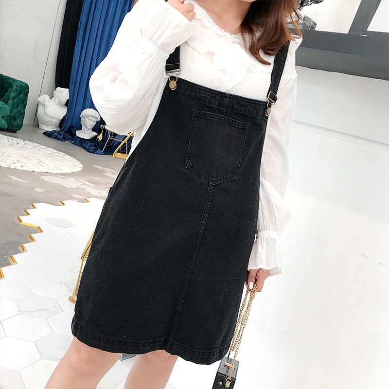afd68e7ff5 Detail Feedback Questions about New Casual Denim Overalls Dress ...