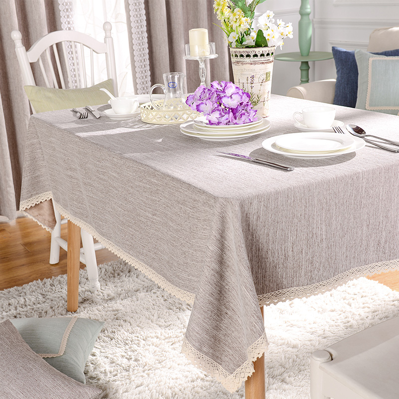 Modern Rectangular Table Cloths For Wedding Blue Table Covers Elegant Table  Overlays Elegant Dining Manteles Cyan Home Decor New In Tablecloths From  Home ...