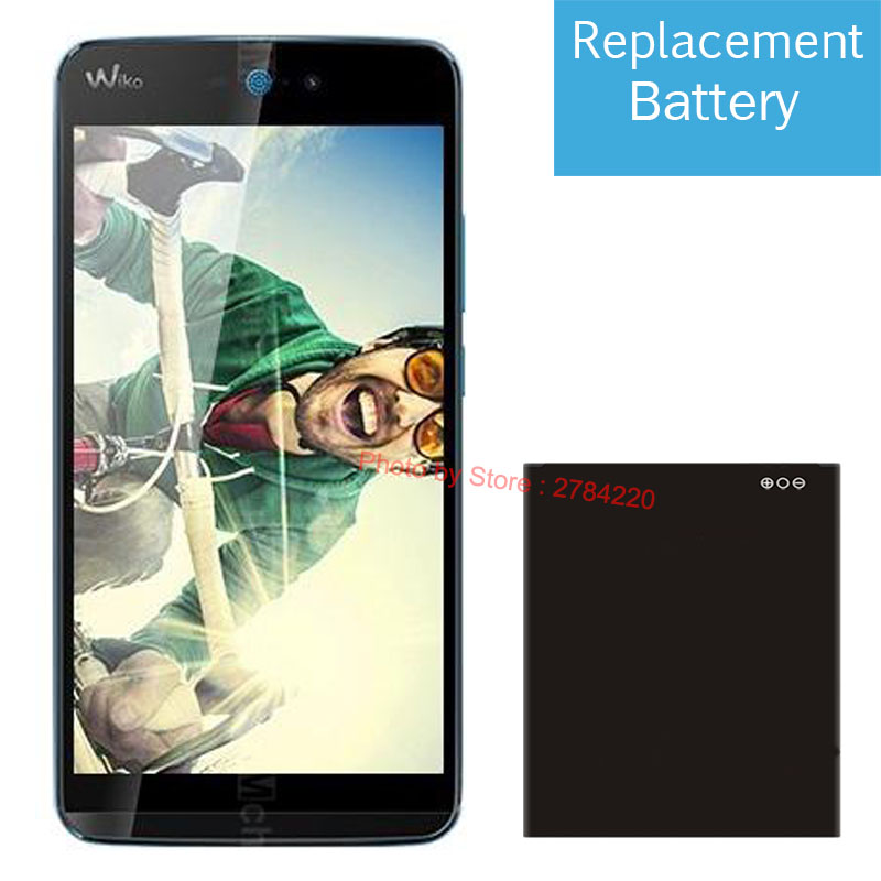 Replacement Battery Mobile-Phone-Batteries 2000mah For Wiko Rainbow-Jam 4G Bateria New