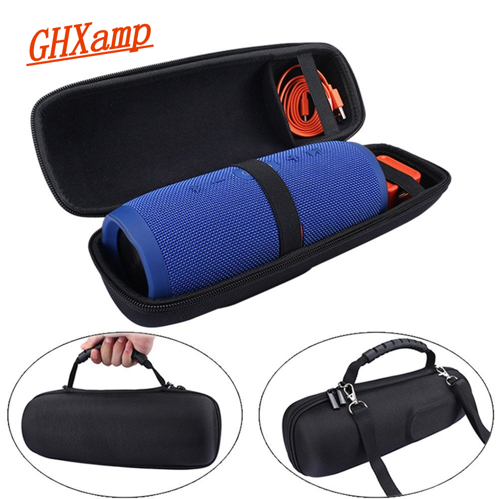 GHXAMP Cover Case for Charge 3 Case Wireless Bluetooth Speakers Travel Carrying Bag Protective Cover Pouch Column Speaker 1PC leaf pillow case cover 1pc