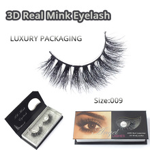 Charming Lash Natural 3D Long Thick Authentic Mink False Eyelashes For Makeup 1 Pair Pack Full Strip Lashes