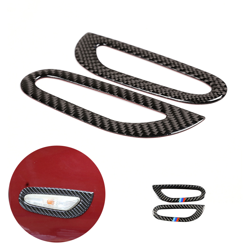 For BMW 3 Series E90 E92 E93 2005 2006 2008 2009 2010 2011 2012 Carbon Fiber 2pcs Car Exterior Turn Signal Light Frame Cover in Interior Mouldings from Automobiles Motorcycles