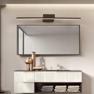 Image 2 - NEO Gleam Đen/Trắng 0.4 1.2 M Hiện Đại Đèn Gương Chống sương mù DẪN đèn Phòng Tắm bàn trang điểm/nhà vệ sinh/phòng tắm đèn gương
