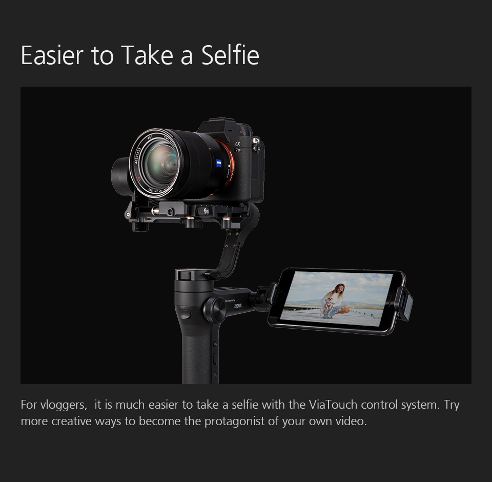 ZHIYUN Official Weebill LAB 3-Axis Image Transmission Stabilizer for Mirrorless Camera OLED Display Handheld Gimbal 9