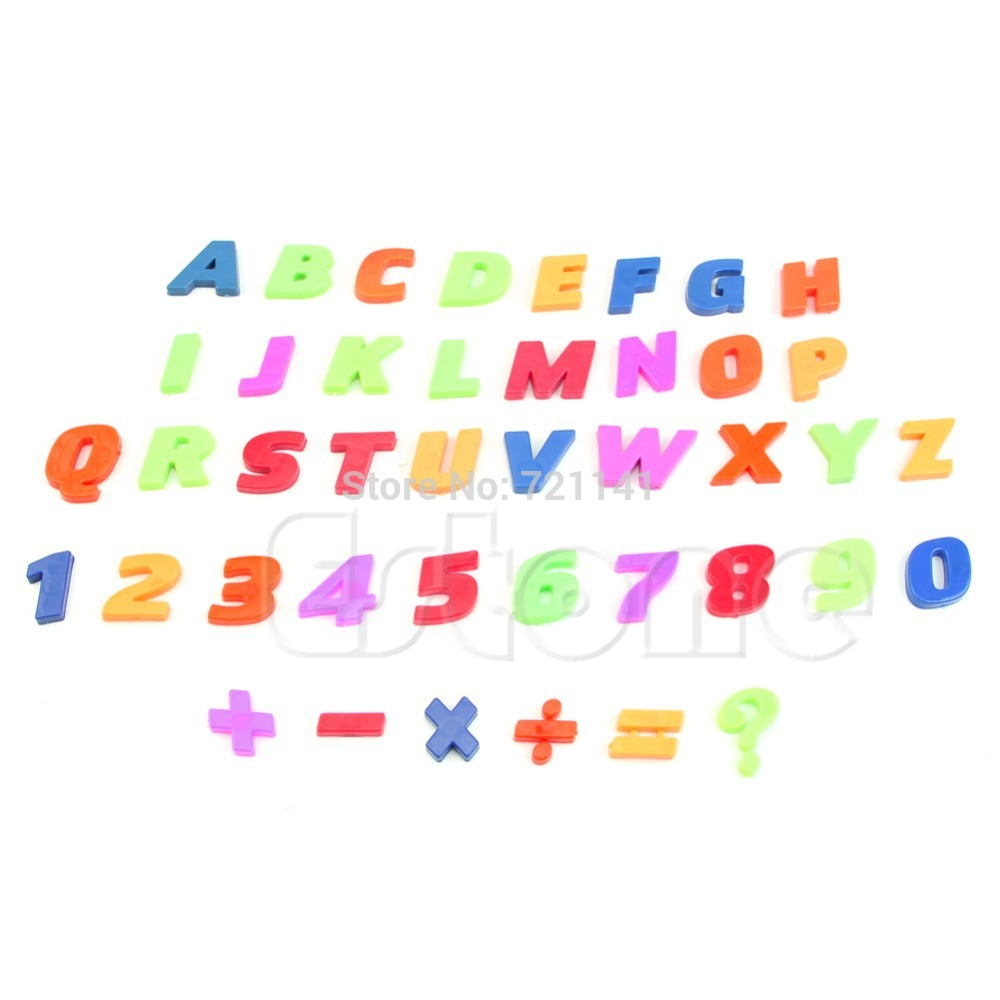 s home free shipping letters numbers teaching magnetic fridge magnets alphabet set of 42