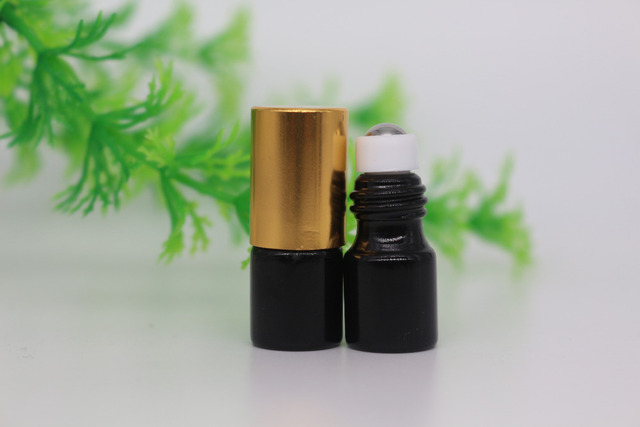 US $38 0 |50Pcs 2ML Black Roll On Roller Bottle for Essential Oils  Refillable Perfume Bottle Deodorant Containers-in Refillable Bottles from  Beauty &
