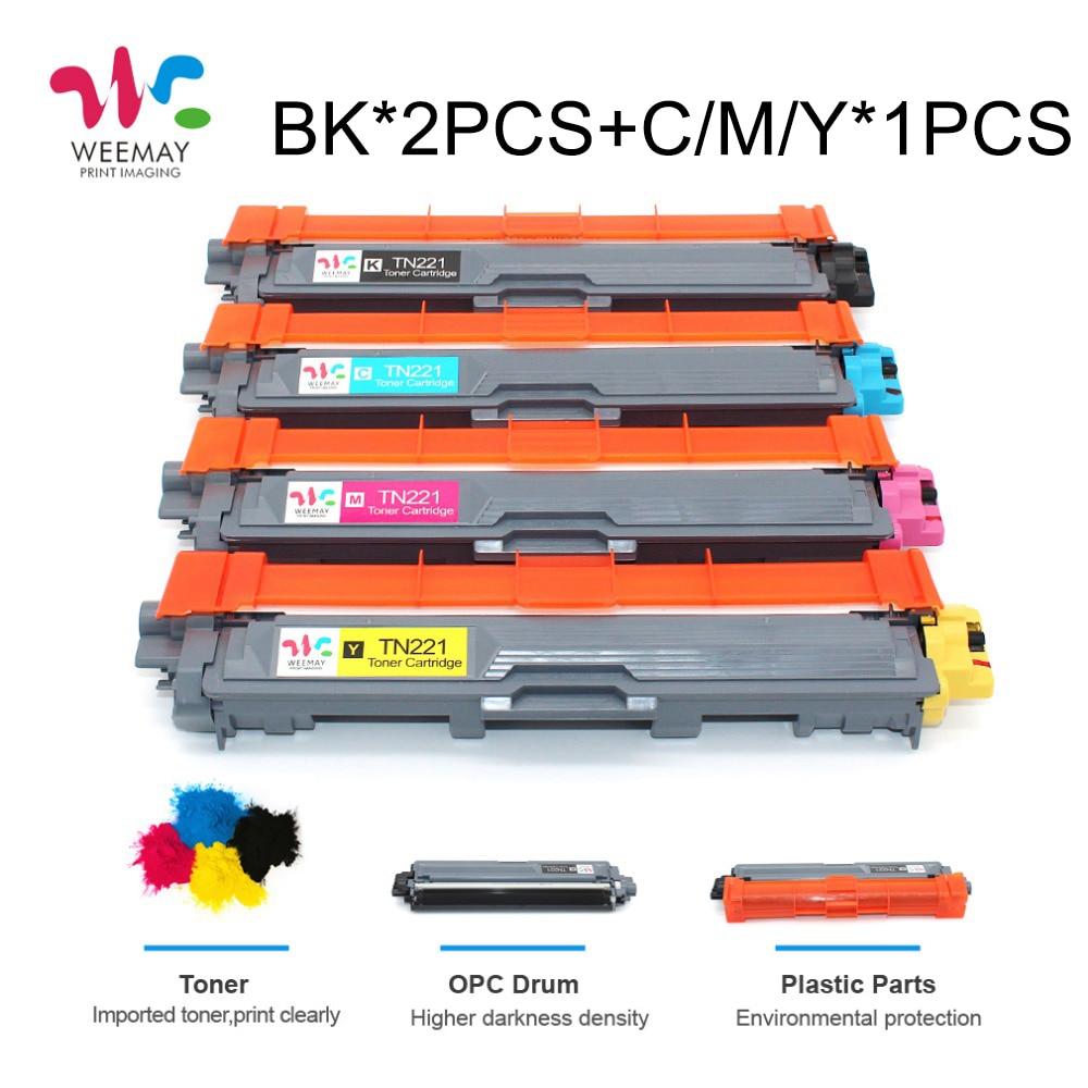Цвет тонер-картридж TN221 TN241 TN251 TN261 TN281 TN291 для брата HL-3140CW 3150CDW 3170 MFC9130CW 9140CDN 9330CDW