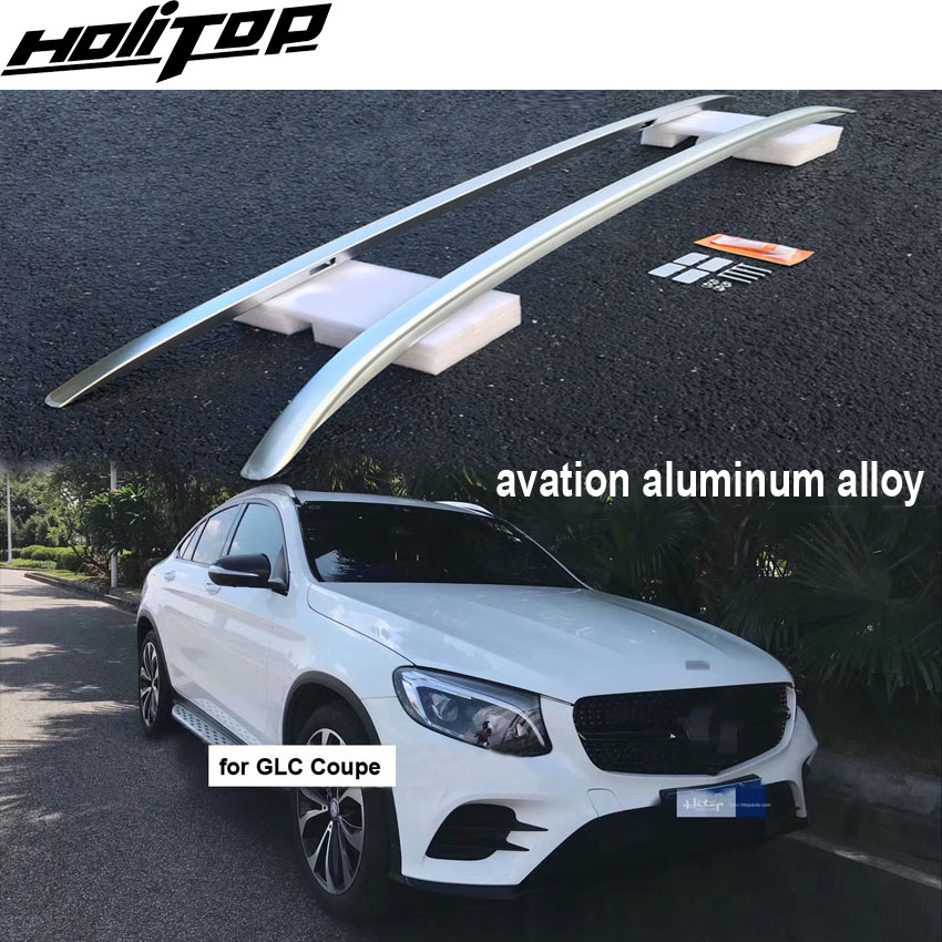 New arrival GLC Coupe roof rack/cross luggage bar/roof rail,thicken aluminum alloy,original style,install by screw not glue