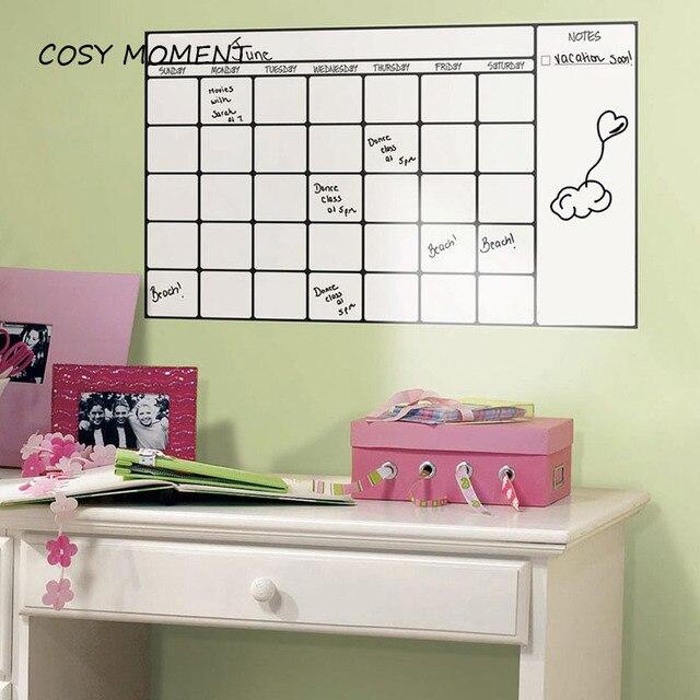 Kids Bedroom Drawing aliexpress : buy cosy moment whiteboard pvc wall sticker kids