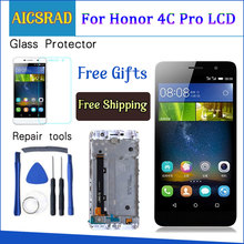 5.0 Display For HUAWEI Honor 4C Pro TIT L01 LCD Touch Screen with Frame For HUAWEI Y6 Pro Display Replacement