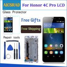 5.0 wyświetlacz do HUAWEI Honor 4C Pro TIT L01 ekran dotykowy LCD z ramką do HUAWEI Y6 Pro wymiana wyświetlacza