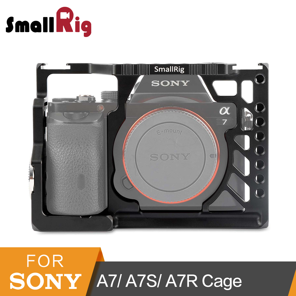 SmallRig For Sony A7 Series Camera Cage A7/ A7S/ A7R Video-making Protective Cage Accessories Kit Rig -1815