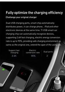 Image 5 - ROIDMI 3S ładowarka samochodowa Bluetooth nadajnik FM 5V 3.4A szybka ładowarka samochodowa odtwarzacz muzyczny MP3 dla telefonów iPhone i Android
