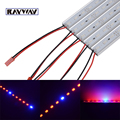 Newest 5pcs /lot 0.5M SMD 5630/5730 (30Red+6Blue) LED Grow Light Bar Light Strips For Hydroponic Plant Flowers Vegetables Greens