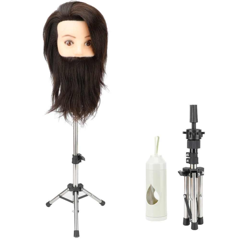 Регулируемый держатель для головы манекена штатив парикмахерский стенд Парикмахерская тренировочная форма для головы зажим манекен подставка для волос парик