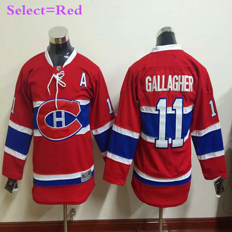 bb38072df ... Canadiens 31 Carey Price Stitched Blue NHL Jersey Cheap Mens 11 Brendan  Gallagher Red Home Throwback Embroidery Hockey Jerseys High Quality ...