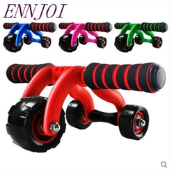 New crossfit abdominal ab roller trainer body building abdominal wheel core waist exerciser fitness equipment accessory.jpg 250x250
