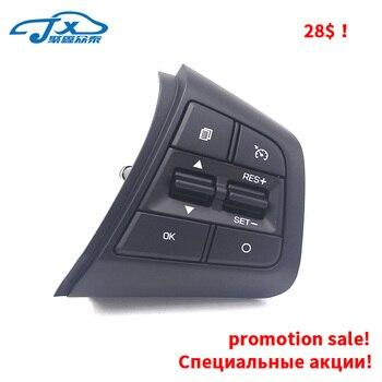 for Hyundai  CRETA Cruise control Multifunction steering wheel key Bluetooth call Volume control