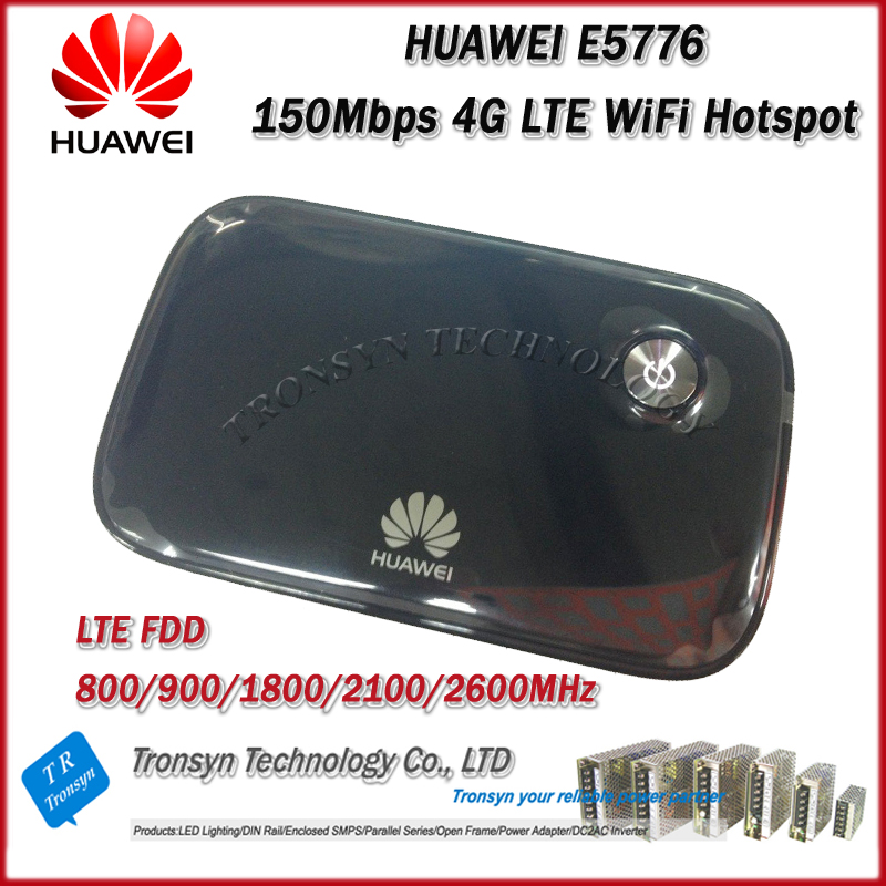 Free Shipping Original Unlock 150Mbps HUAWEI E5776 4G LTE Wireless Router Support LTE FDD B1 B3 B7 B8 B20 new arrival original unlock huawei e8372h 150mbps 4g lte 12v car wifi router support b3 b7 b8 b28 b40