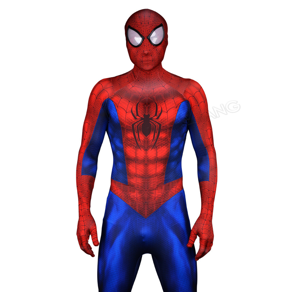 Spiderman Homecoming Cosplay Costume Zentai Spider Man Superhero Bodysuit Adult Lycra Spandex Spider man Costume for Halloween-in Movie & TV costumes from Novelty & Special Use    3