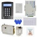 DIYSECUR RFID Teclado Puerta Kit Sistema de Seguridad de Control de Acceso + Cerradura Electrónica para el Hogar Oficina B100