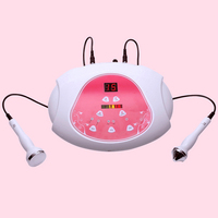 Ultrasound EMS heating face Massager Beauty equipment Body profession skin care Weight Loss Acupuncture Therapy massage