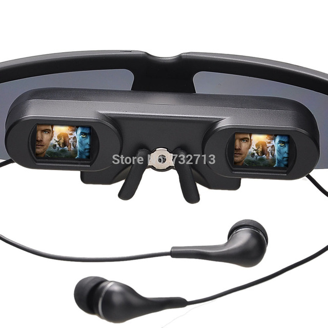 a5a963e56f6 320k Pixels Mobile Theater 52 inch Virtual Screen Eyewear Mobile Theatre Goggles  Video Glasses for FPV