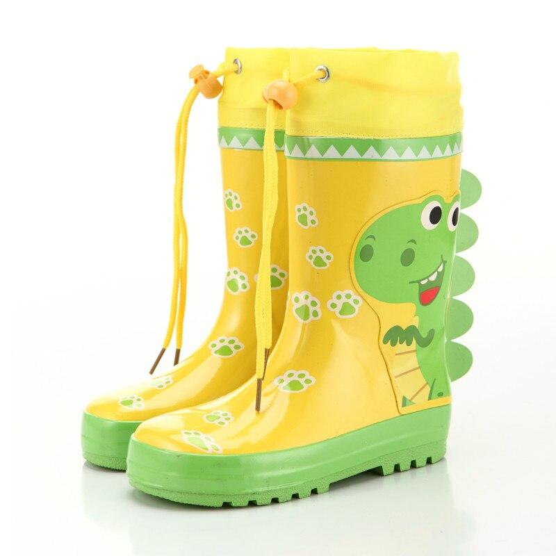 Enfants bottes de pluie bébé mignon neutre bon dessin animé mode garçons et filles anti-dérapant bons enfants antidérapant imperméable à l'eau chaussures