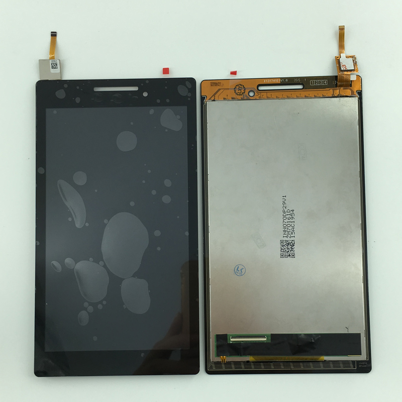 4pcs LCD Display Monitor + Touch Panel Screen Digitizer Glass Assembly Replacement Parts For Lenovo Tab 2 A7-10 A7-20 A7-20F for letv le1 pro x800 lcd display monitor touch screen digitizer glass sensor assembly replacement parts high quality