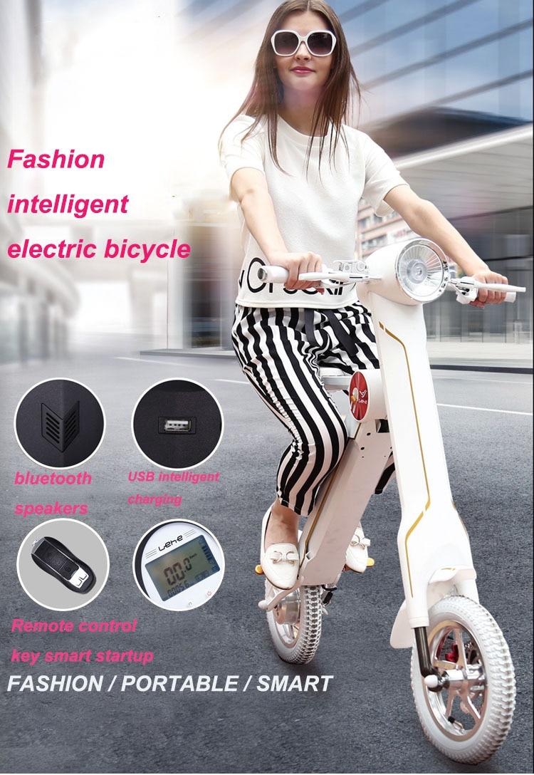 Pulsuz çatdırılma Smart ebike elektrikli velosiped mini elektrik - Velosiped sürün - Fotoqrafiya 2