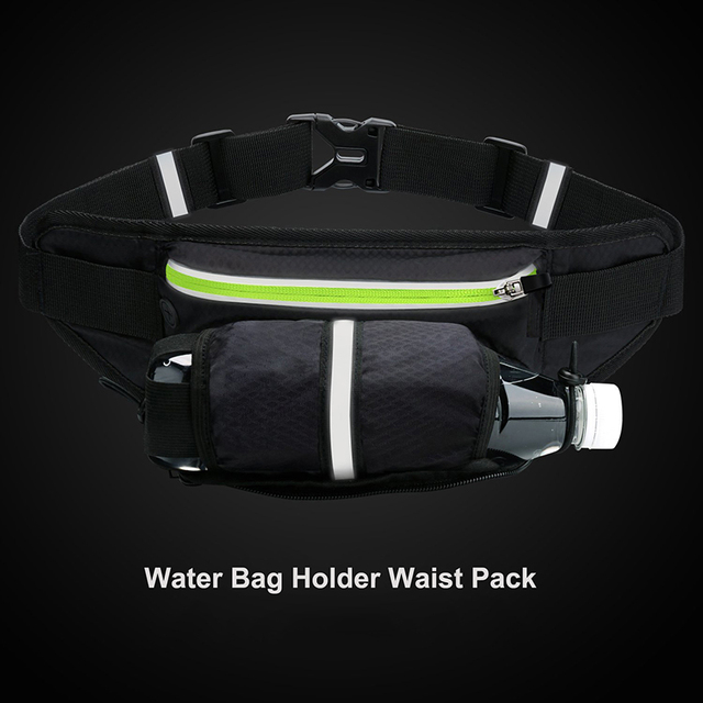 Sireck Sport Gym Bag Men Women Running Waist Bag Waterproof Sports Hydration Belt Cycling Travel Hiking Fitness Bag Accessories