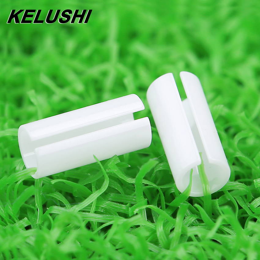 KELUSHI 5 Pcs FTTH Fiber Tool Accessary The Visual Fault Locator Fiber Cable Tester Accessary-Ceramic Core Sleeve White