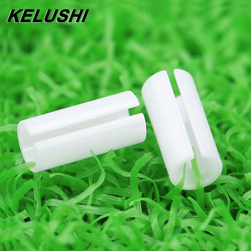 KELUSHI 5 Pcs FTTH Fiber Tool Accessary The Visual Fault Locator Fiber Cable Tester Accessary-Ceramic Core Sleeve White