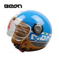 2019 New summer spring motocross Riding BEON Helmet ,ABS moto half face motorcycle scooter electric headpiece for men women PC